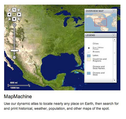 MAPMACHINE